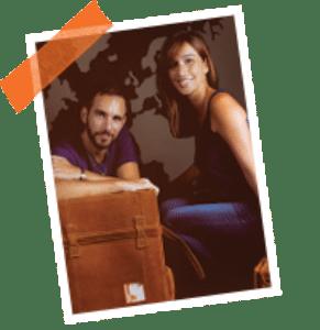 Sara y David de Retratos Viajeros