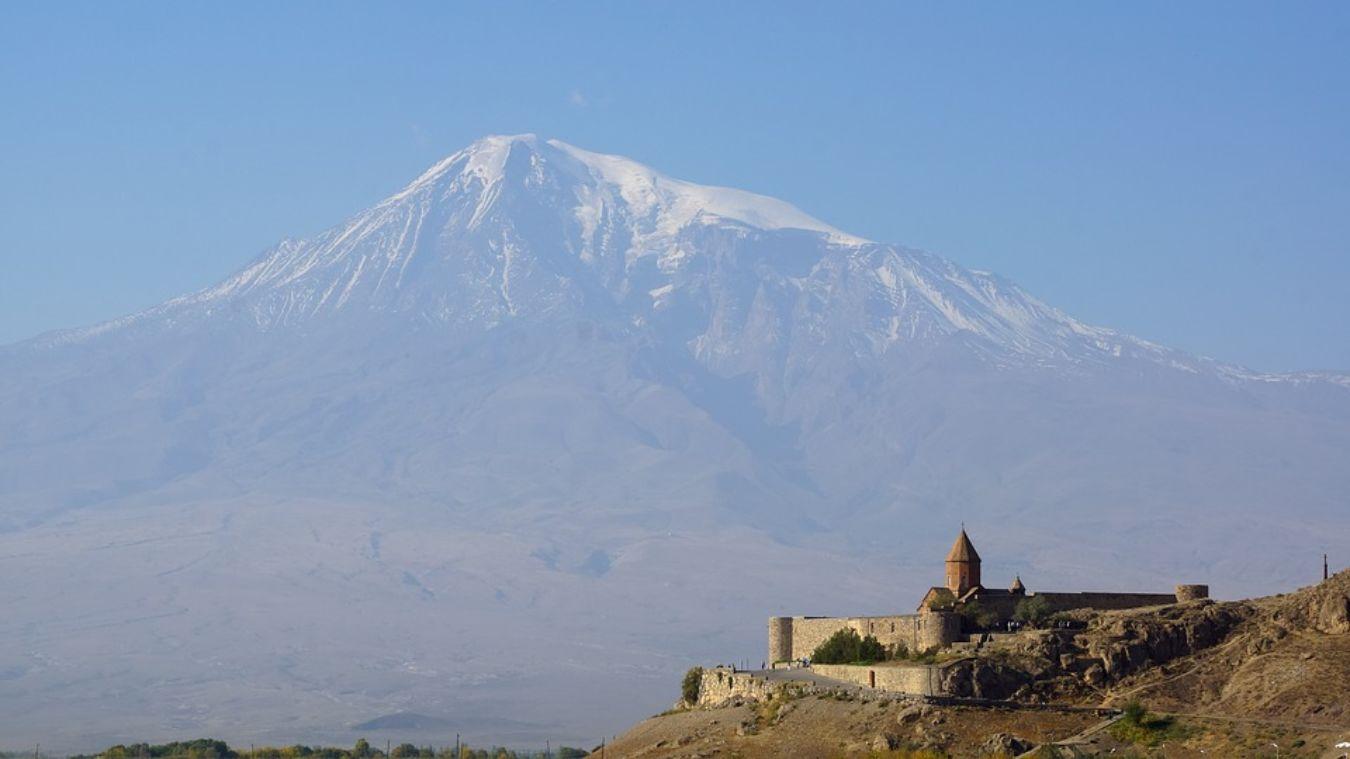 Monasterio de Khor Virap en Armenia