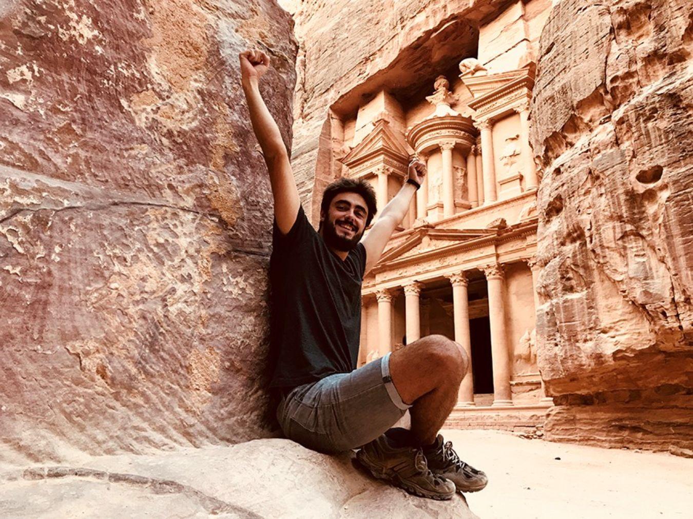 Antigua ciudad de Petra, una de las siete maravillas del mundo