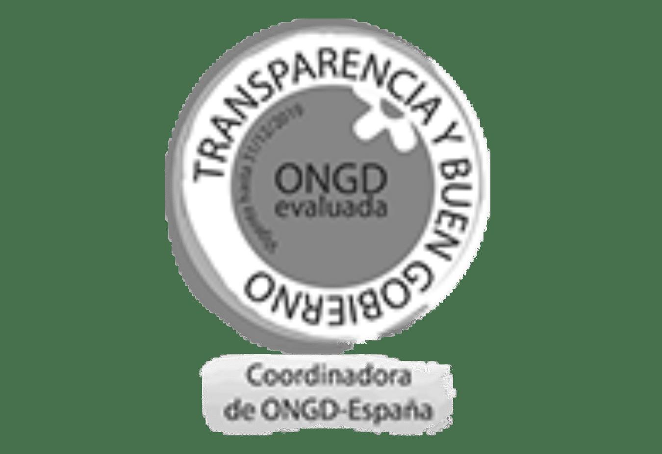 Sello de garantía ONGD evaluada