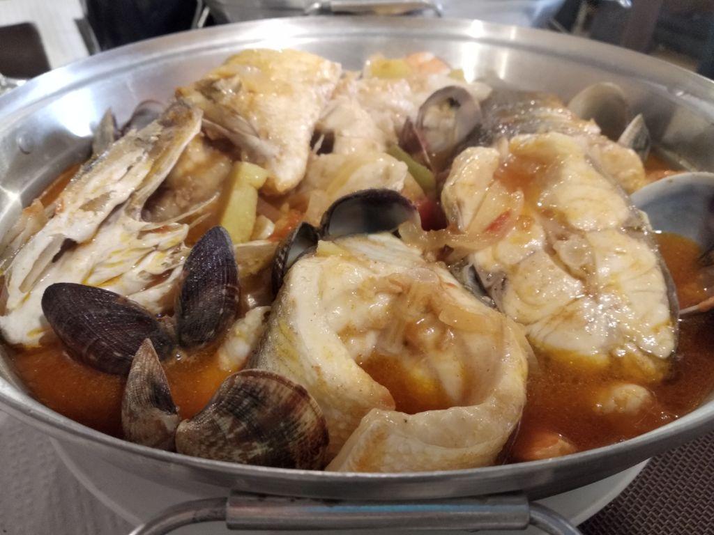 Cataplana, plato típico portugués