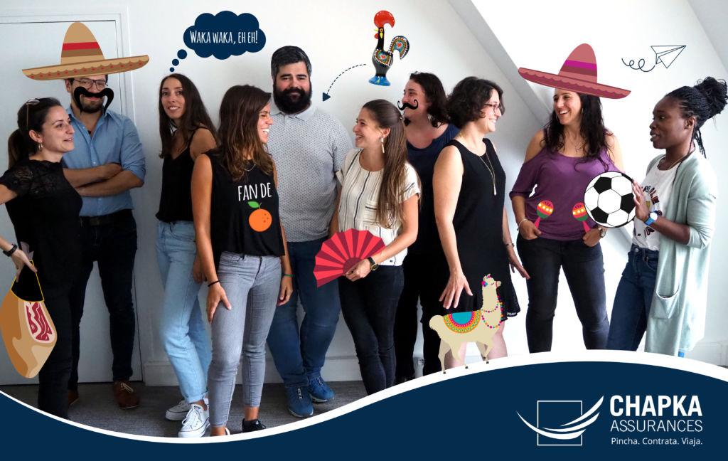 Equipo español de Chapka