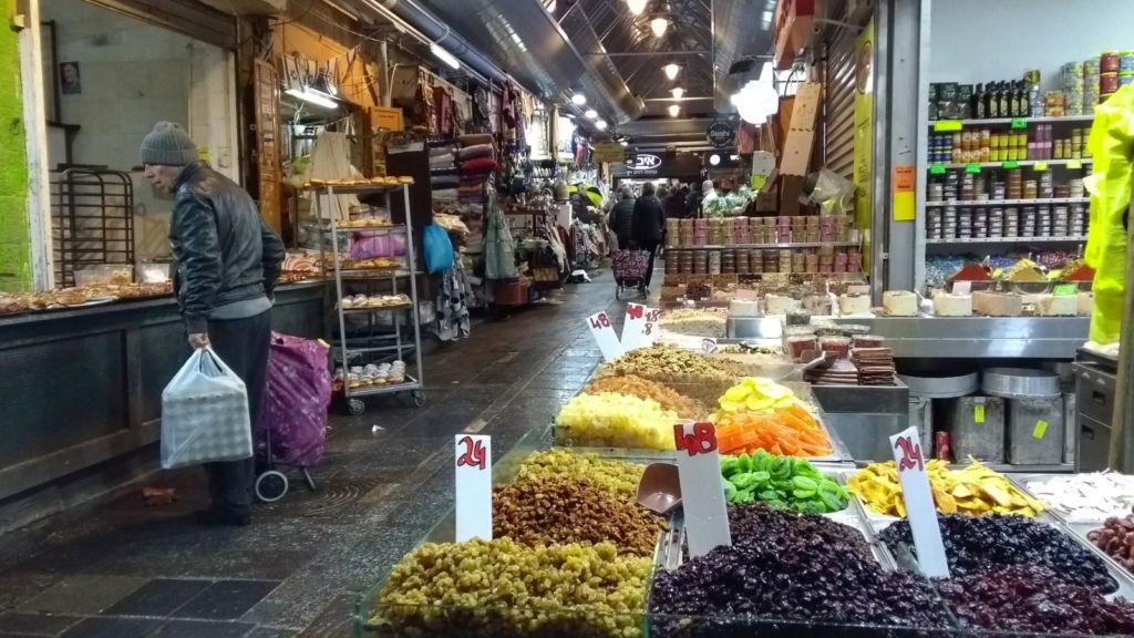 Yehuda Market en Jerusalem, Israel