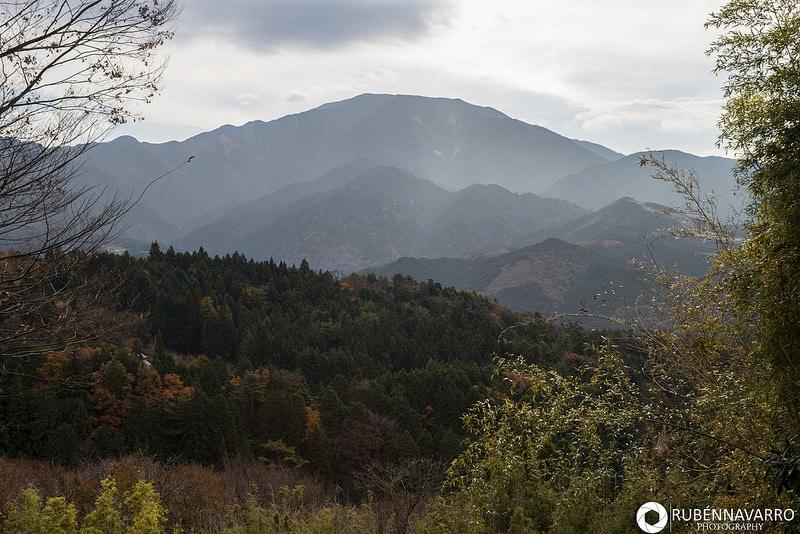 Monte Koya en Koyasan, Japón