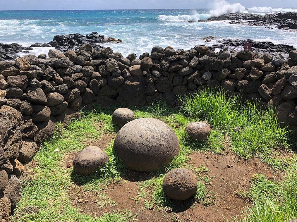 Roca energética en la Isla de Pascua