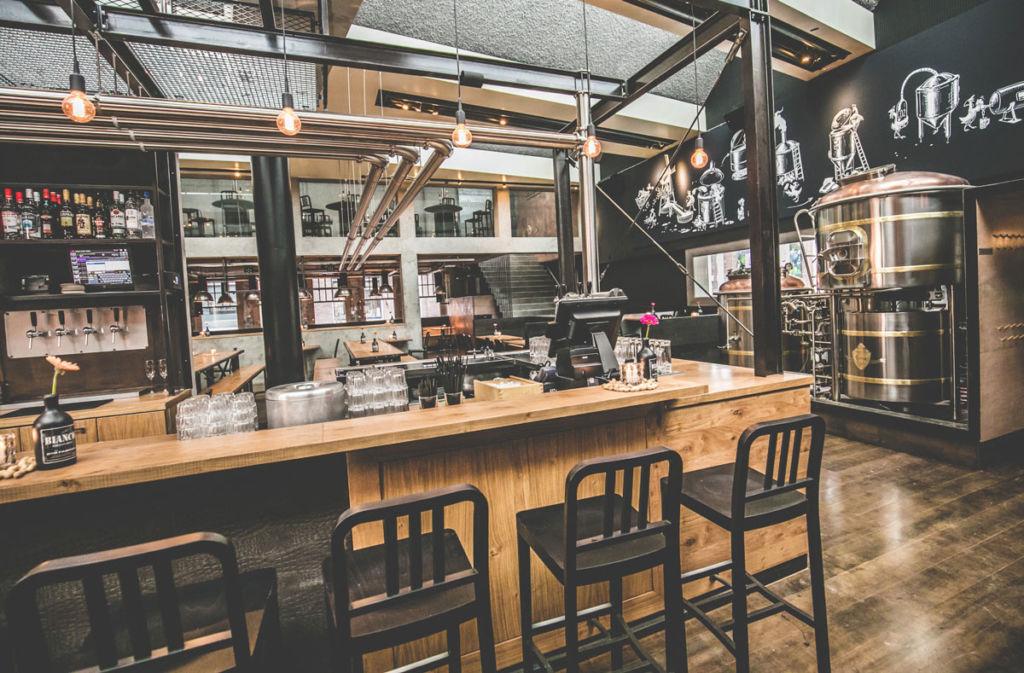 bar Bierfabriek cacahuetes en Amsterdam
