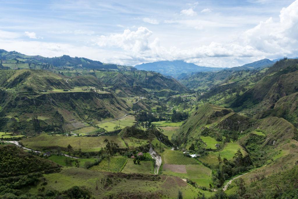 cañon rio Toachi, Quilotoa, Ecuador