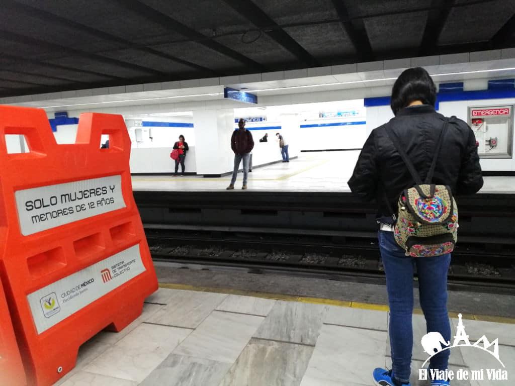 metro para mujeres en mexico