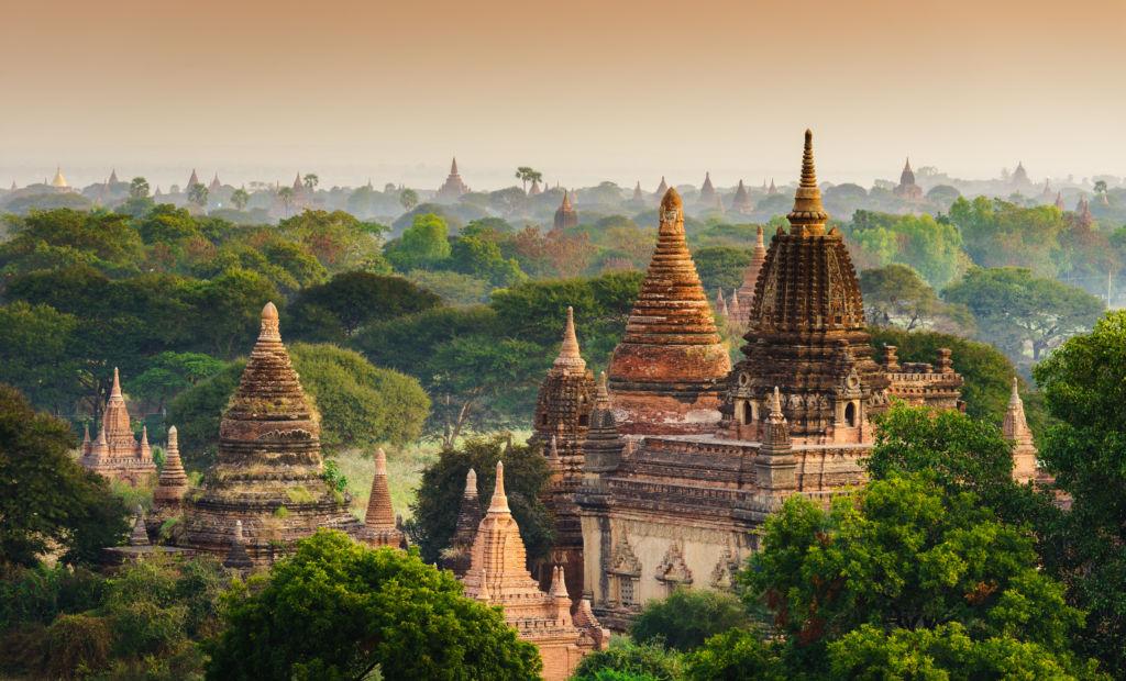 Templos de Bagan Mndalay Myanmar