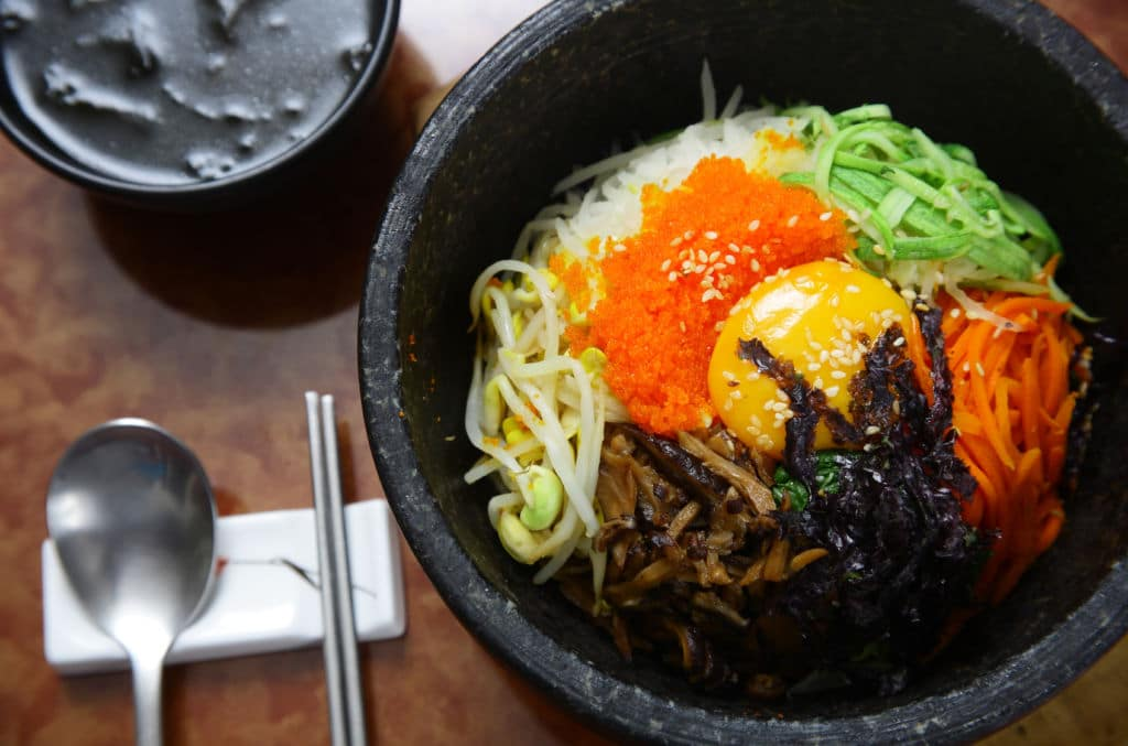 corea cocina Bibimbap  working holiday visa