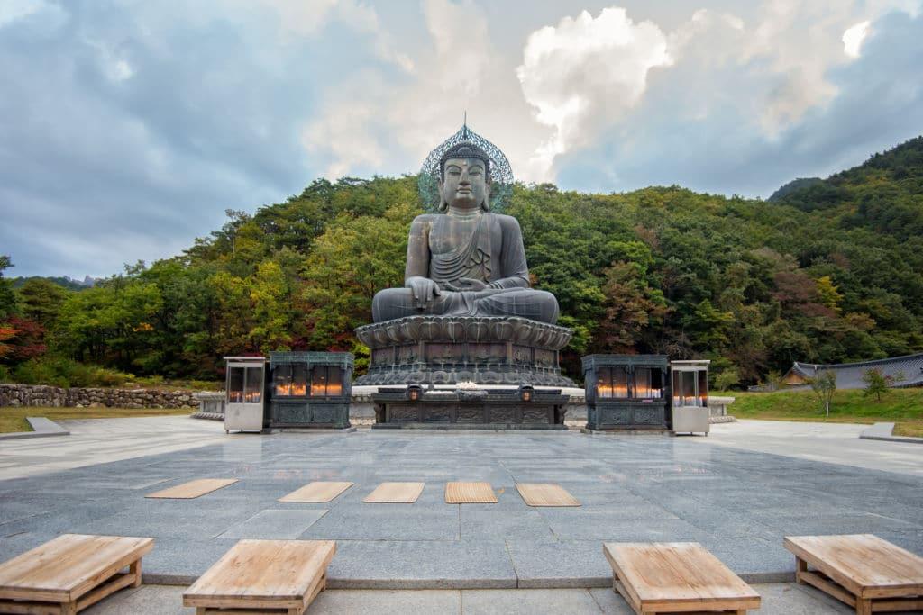 Seoraksan national park Corea del Sur