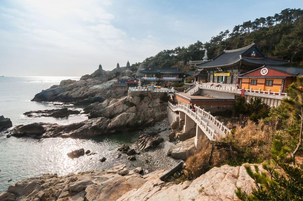 templo en corea del sur Haedong Yonggungsa
