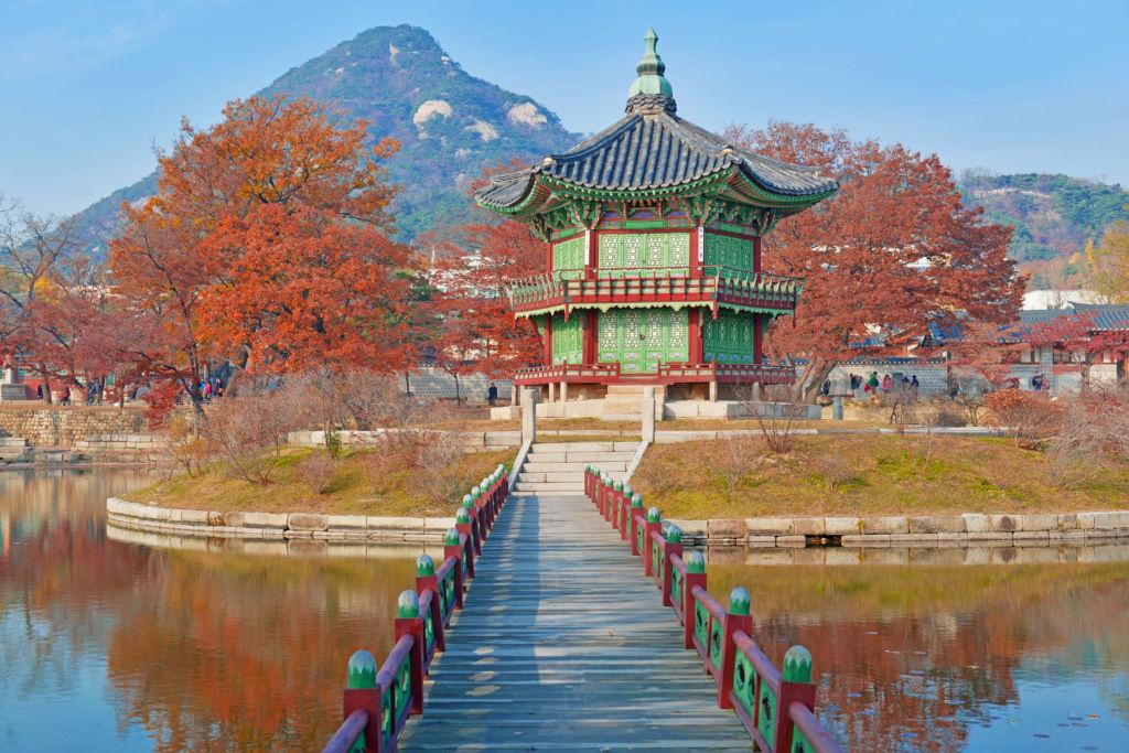 gyeongbokgung Palace, Seoul, corea del sur