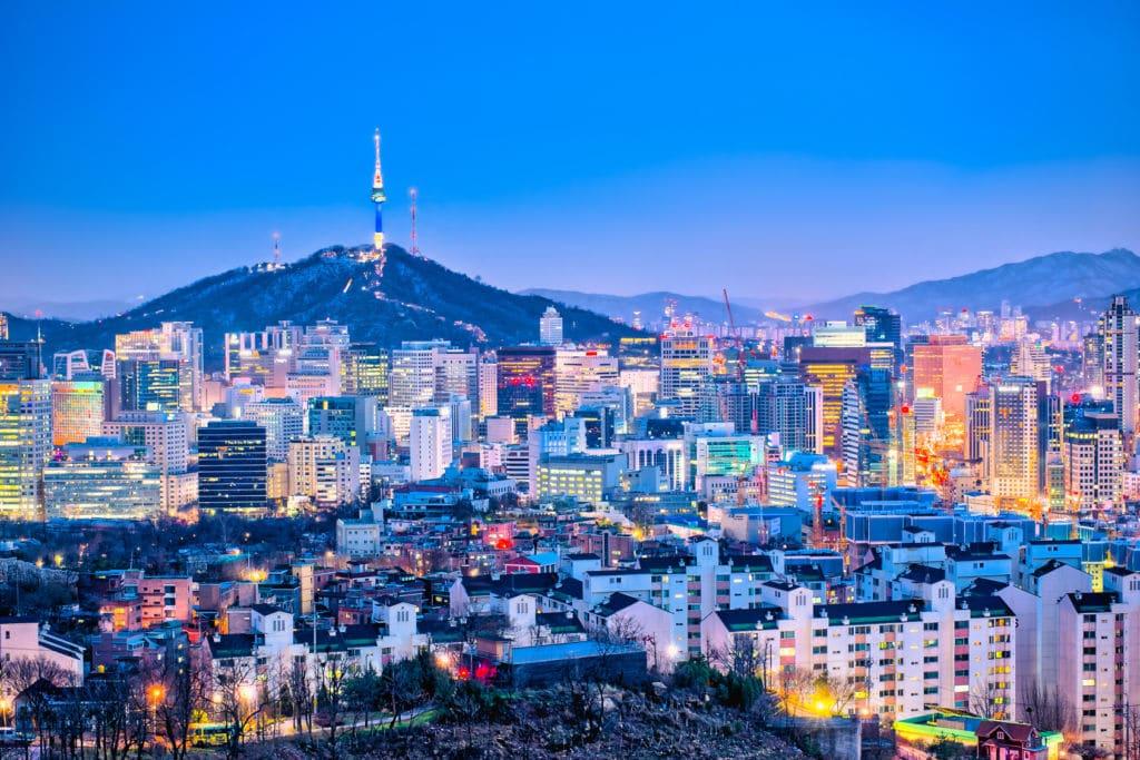cityscape de seul corea del sur