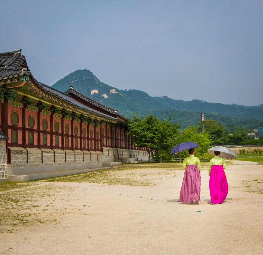 coreanas de espaldas costumbres coreanas