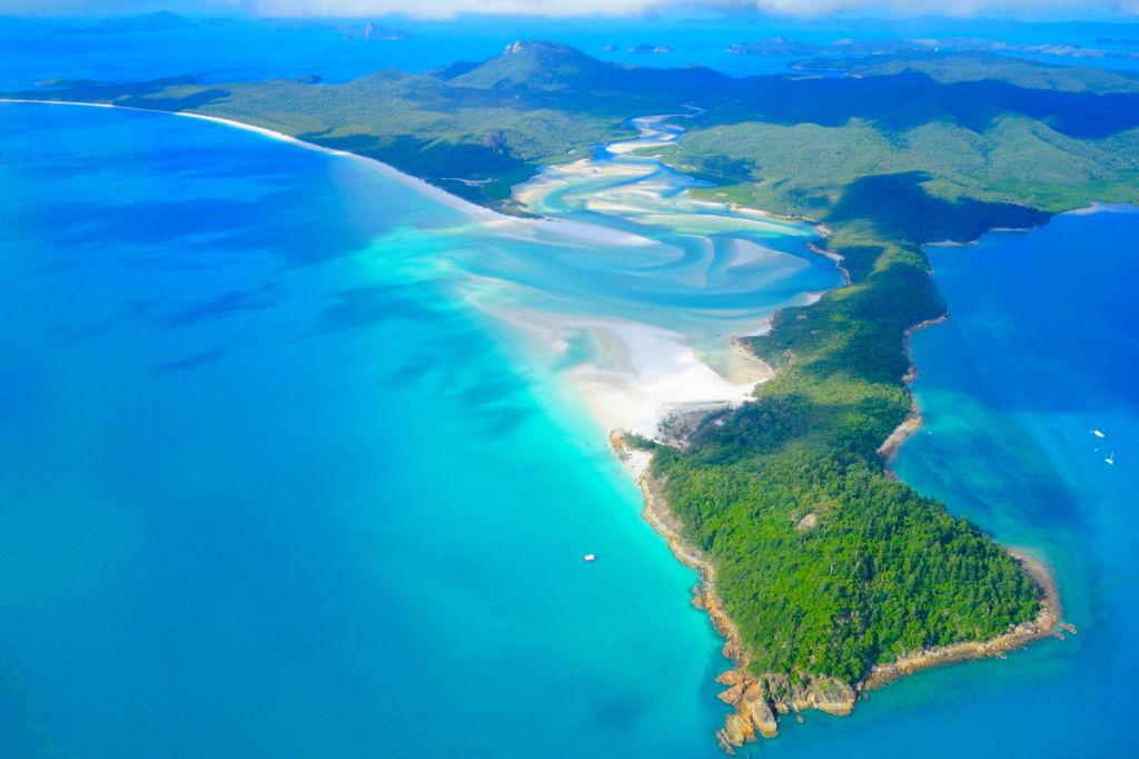 Whitehaven Beach playa más bonita del mundo Australia