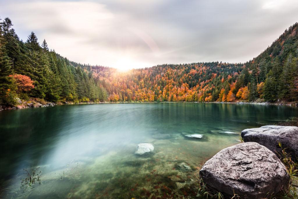 lago de los Vosgos  lugares para visitar Francia