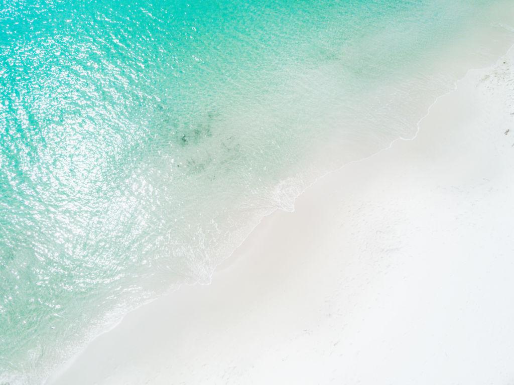 playa más blanca del mundo Hyams Australia