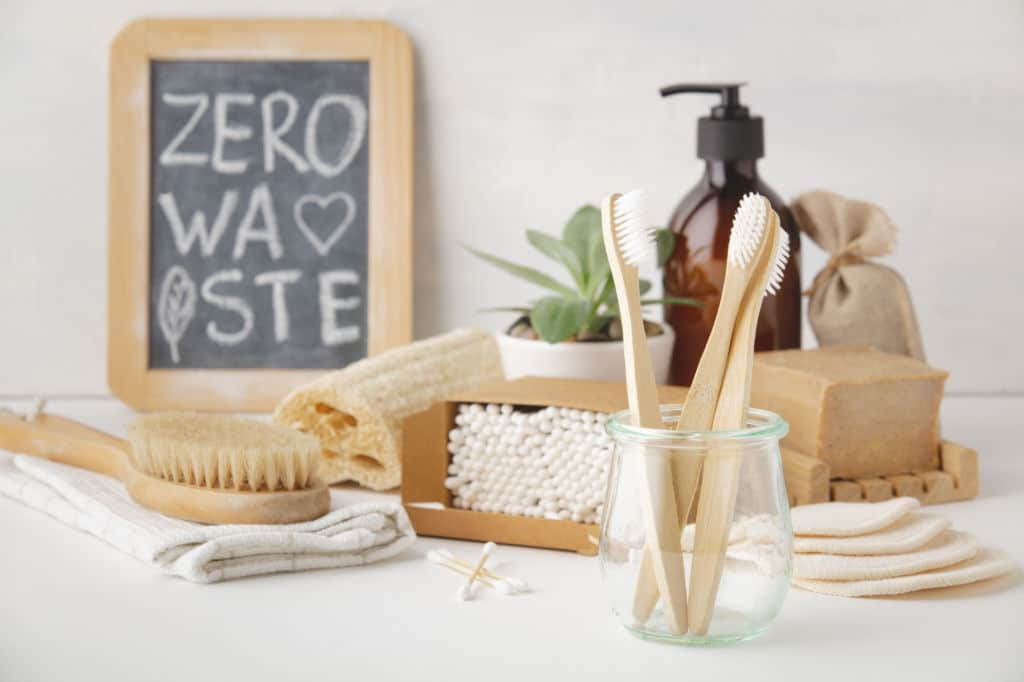 zero waste viaje sin plástico eco reponsable cepillo de bambú