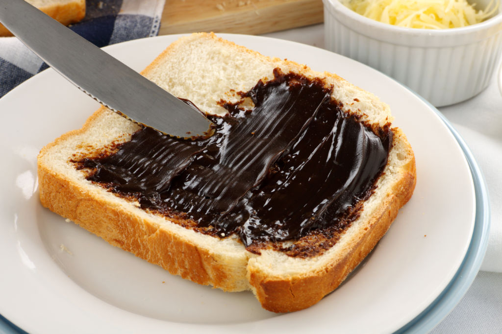 tostada de Vegemite comida típica australia