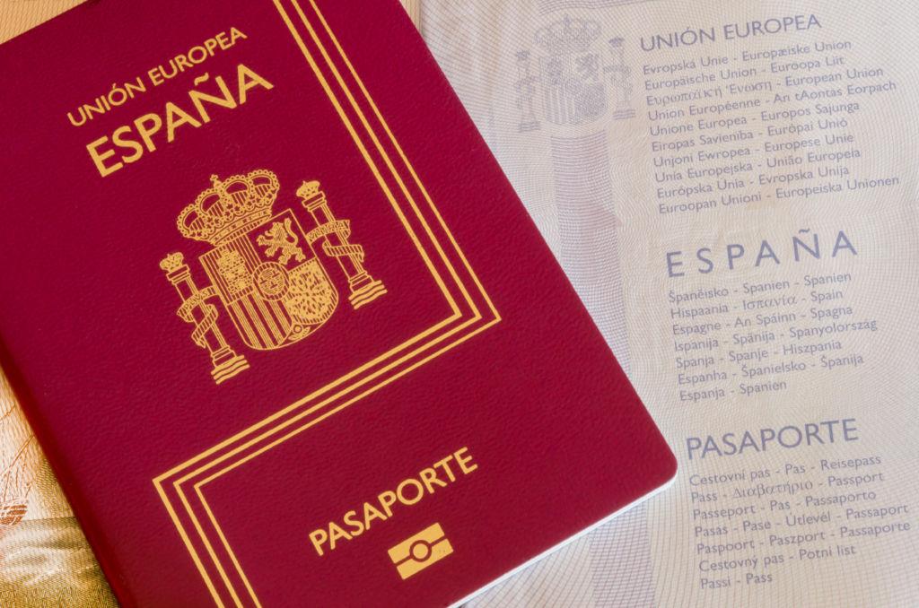 pasaporte viajar Estados Unidos
