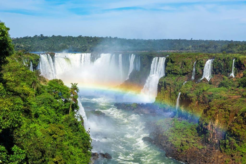 cataratas Iguazú de Argentina y Brasil