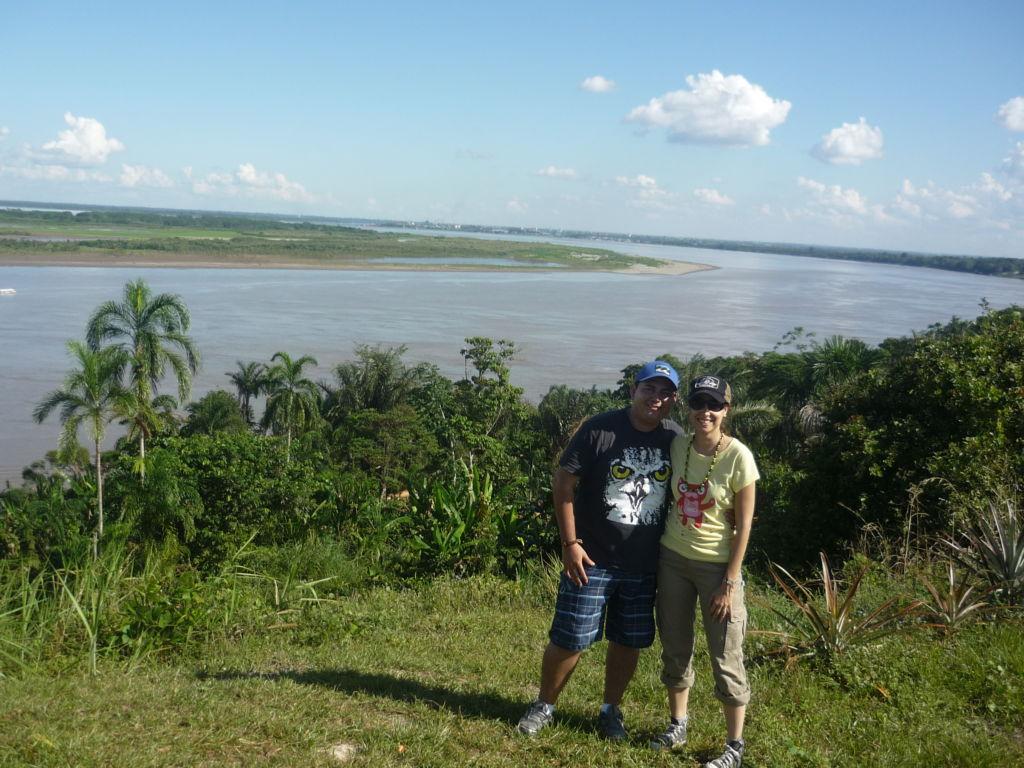 pareja en el amazonas peruano