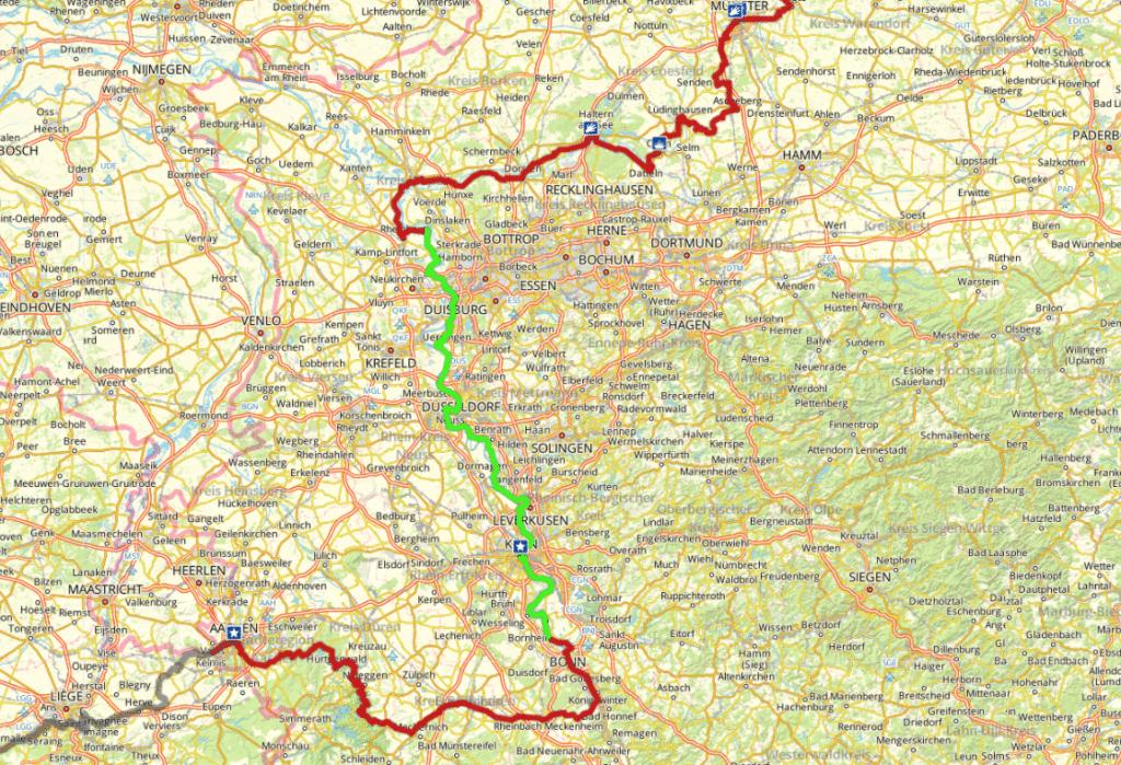 rutas bicicleta europa eurovelo