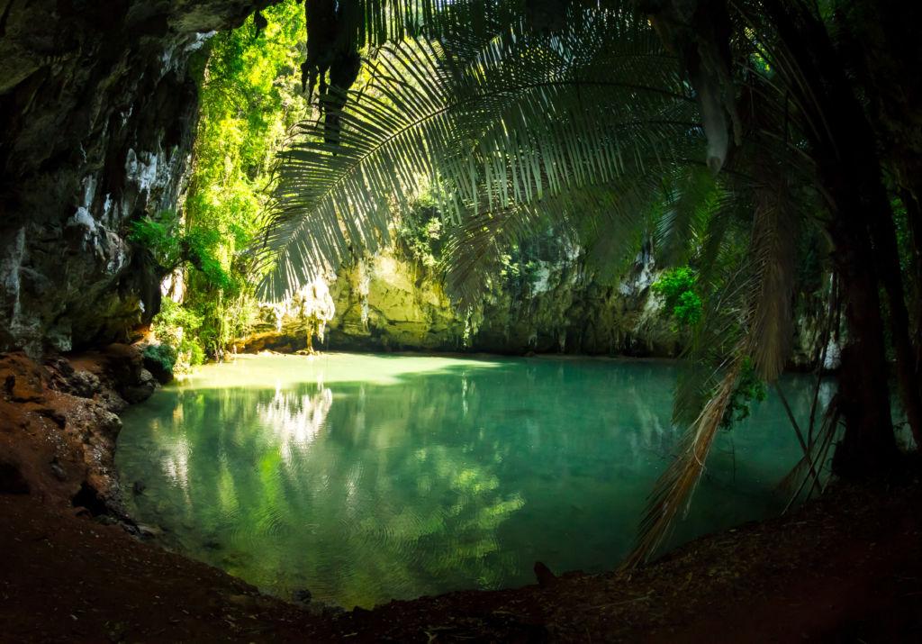 Secret Lagoon en Tailandia