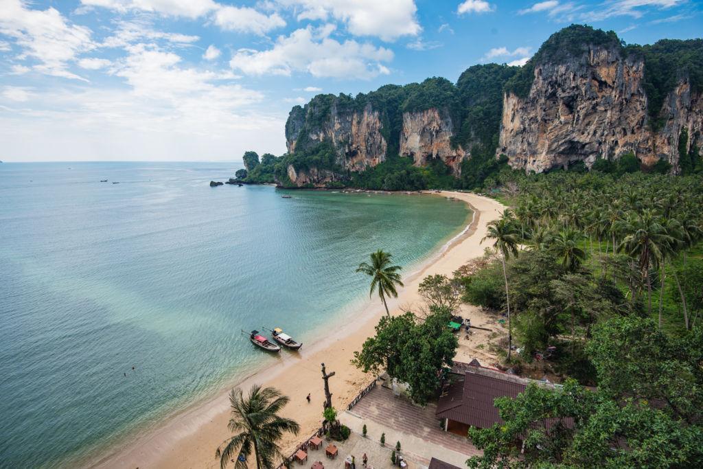 Tonsai playa paradisiaca en Tailandia Krabi