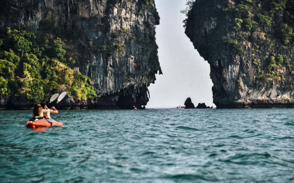 Kayak Tailandia tonsai