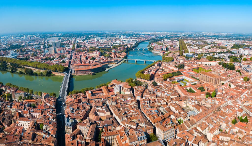 Toulouse-Ville-Rose working holiday francia