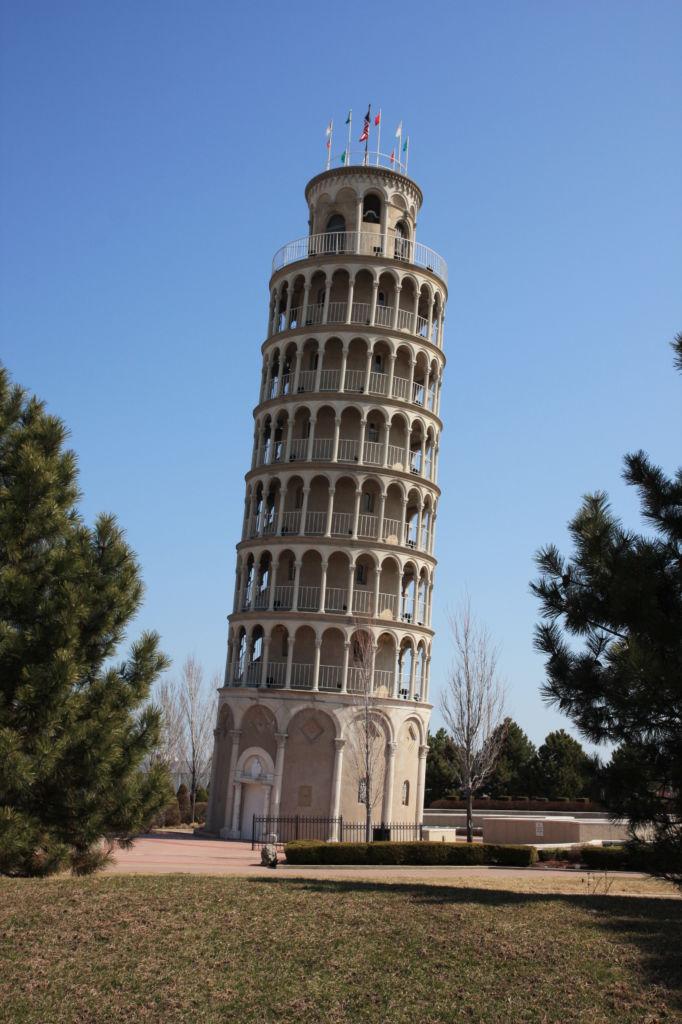 torre de pisa chicago réplicas monumentos