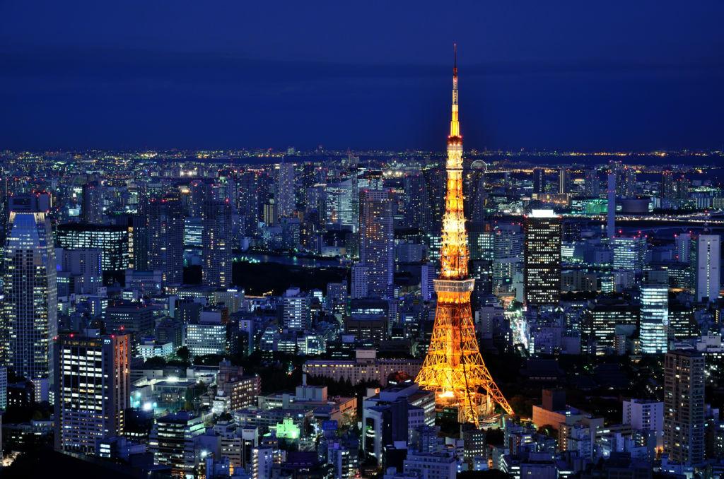 Torre de Tokio réplica de la torre Eiffel