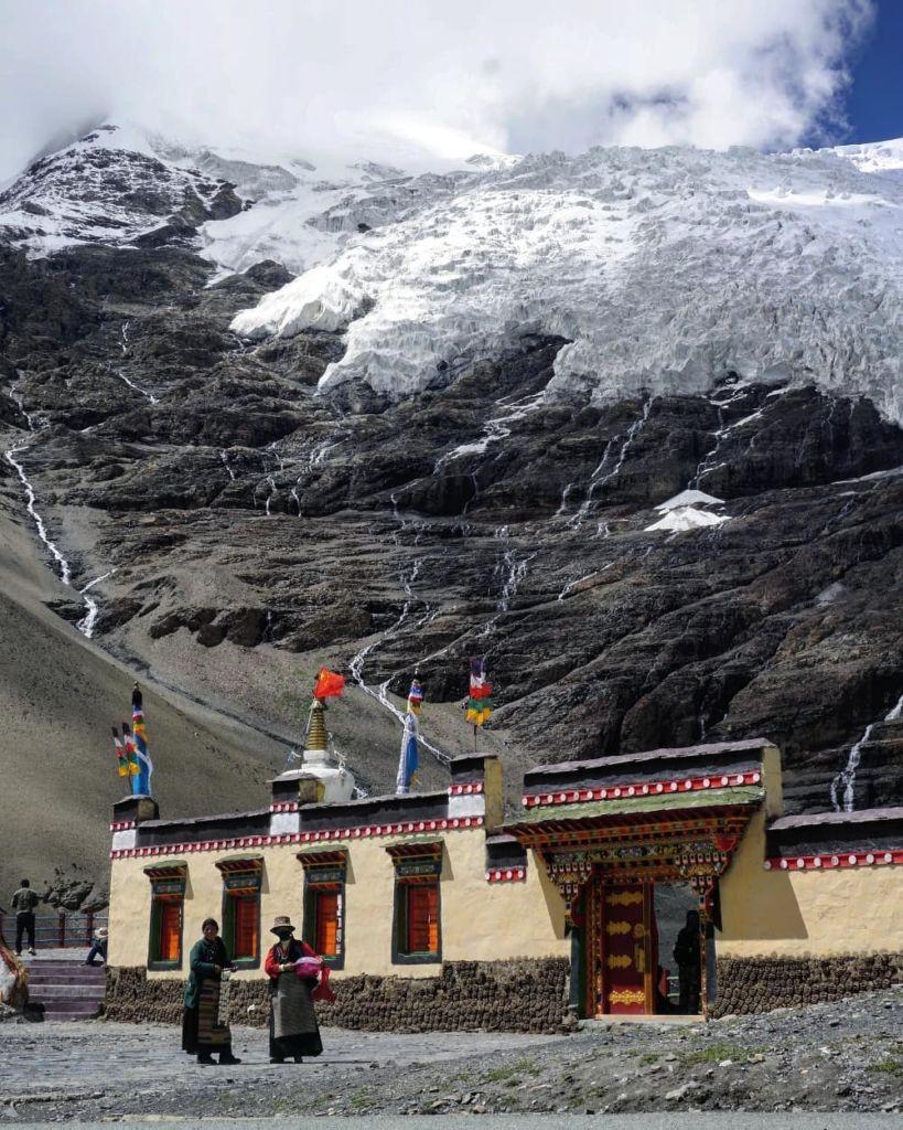 glaciar tibet