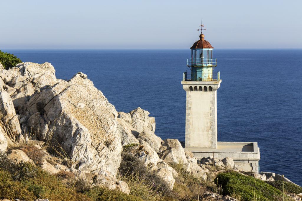 Faro del Cabo Tenaro que ver en grecia
