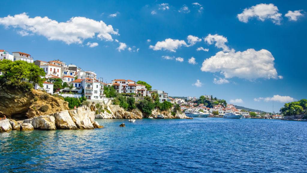 puerto de Skiathos  grecia