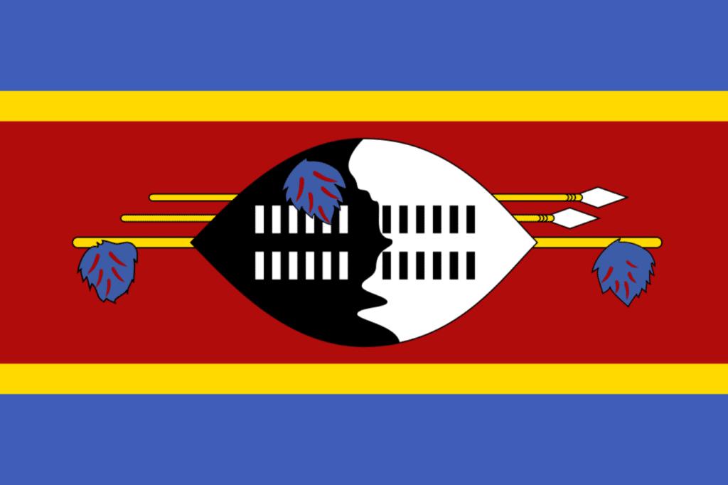 Suazilandia bandera Esuatini