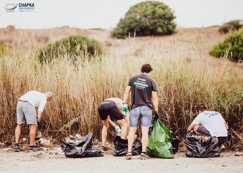 recogida basura Haz algo Málaga