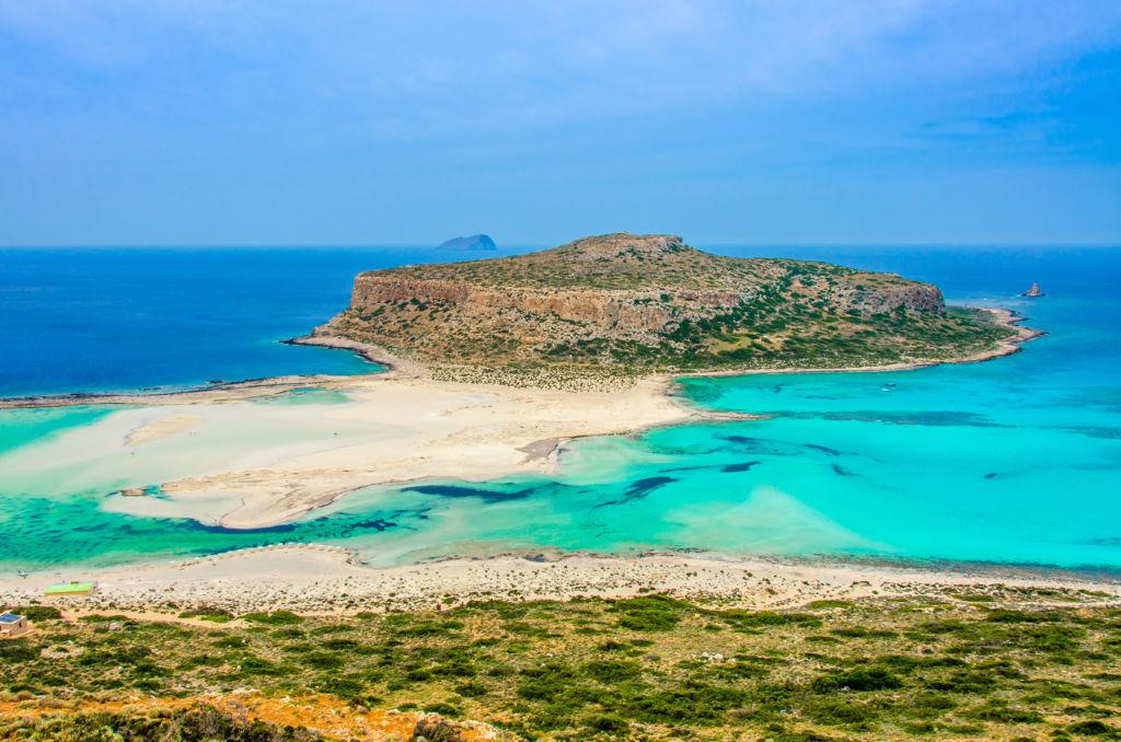 Lagon de balos en creta que ver en grecia playa azul