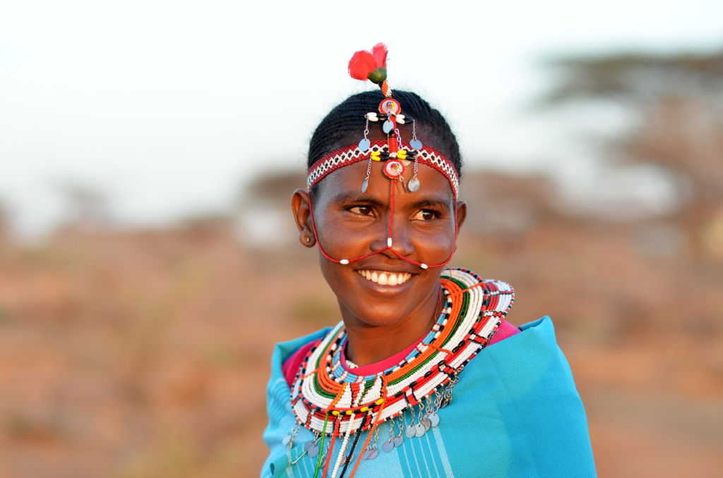 kenia mujer africana tribu