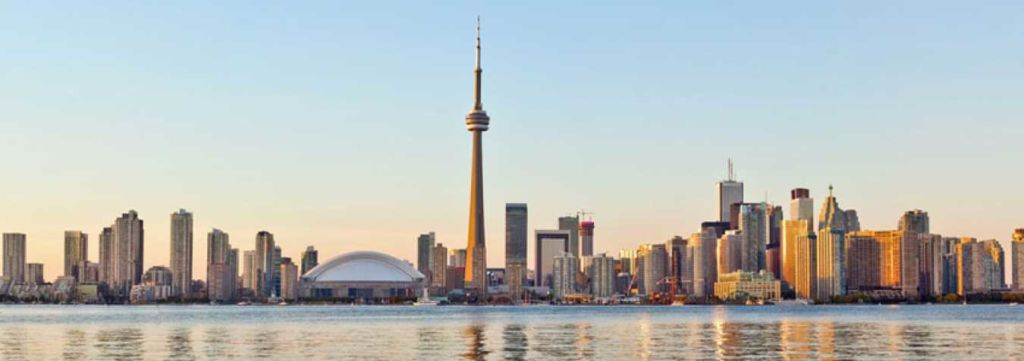 Ontario skyline canadá