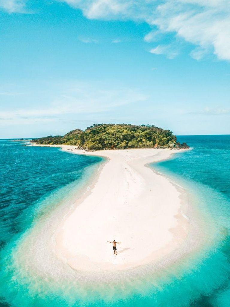 filipinas vista aérea de Sibuyan