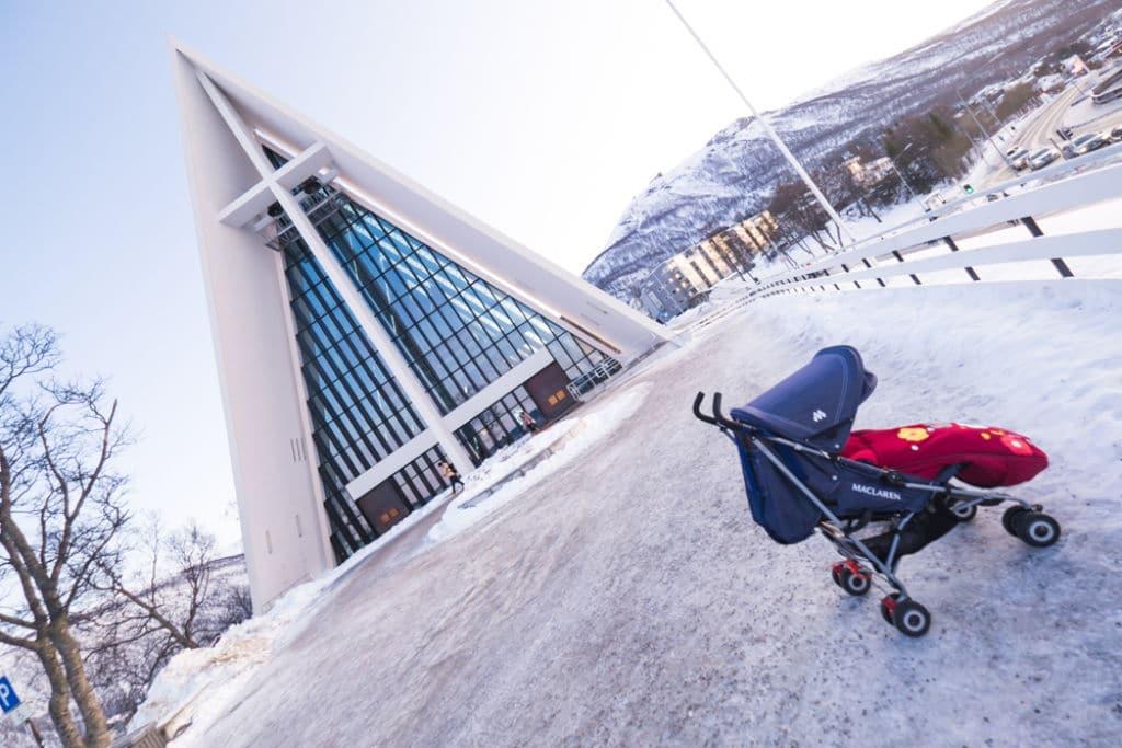 viajar con niños a Tromsø