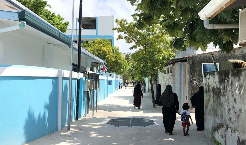 país musulman maldivas mujeres burka