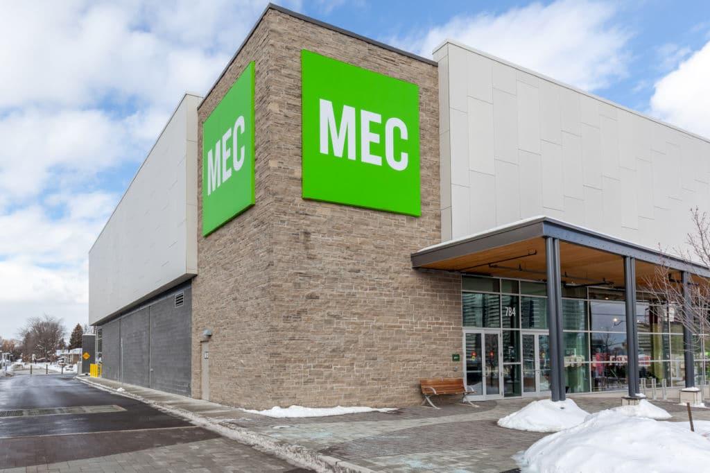MEC Canadá tienda deporte canadiense marca