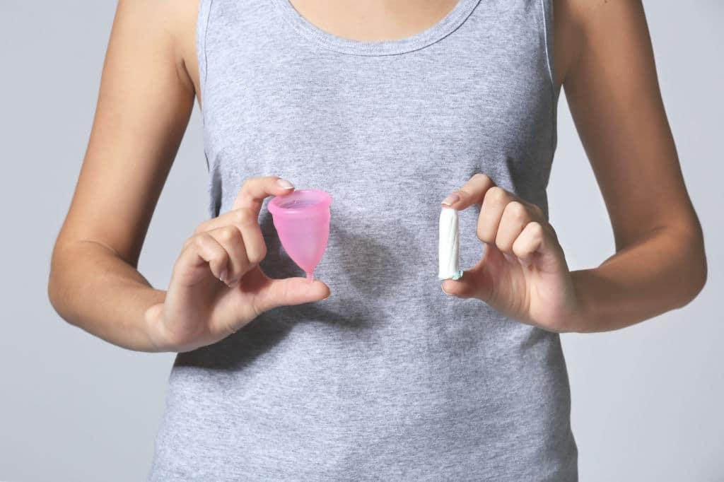 copa menstrual viaje