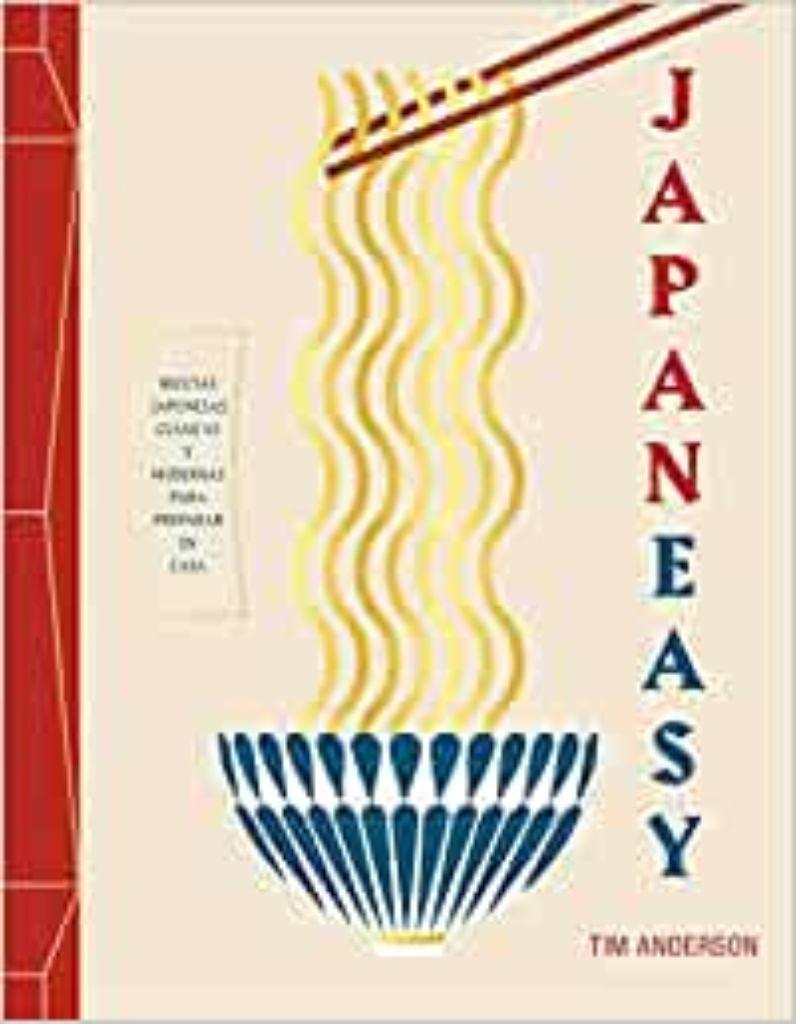 Japan Easy Libro cocina internacional bonito fácil gastronomía japonesa