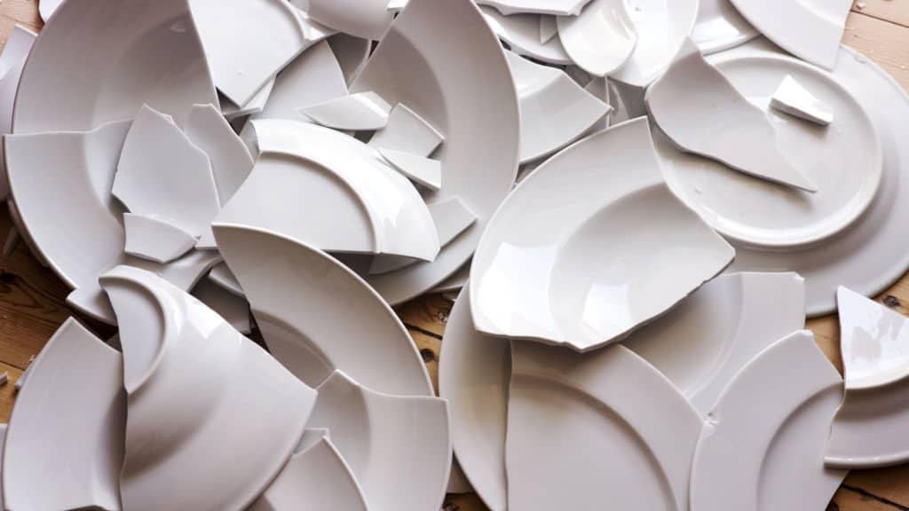 platos rotos tradición Dinamarca Nochevieja