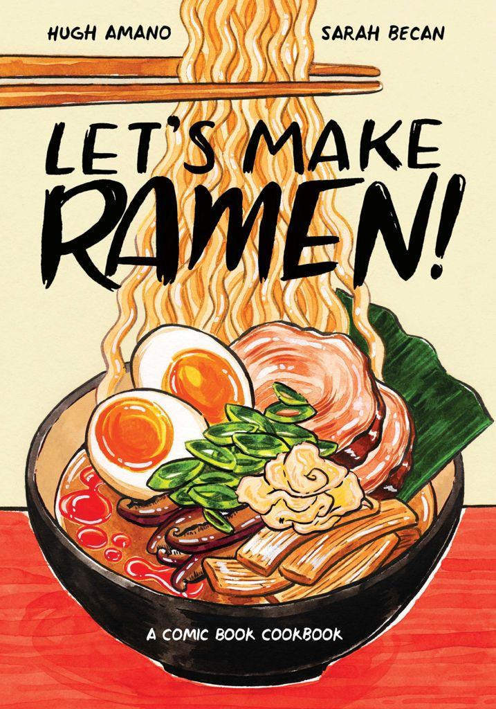 Ramen libro de cocina internacional bonito cómic cocina coreana